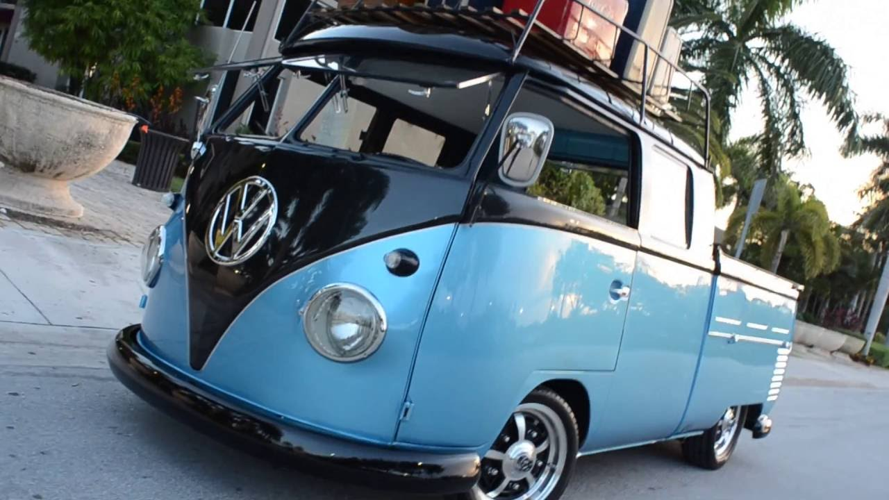 1961 Vw Bus Doublecab For Sale Youtube