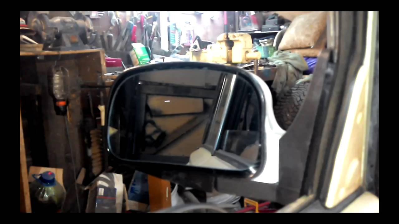 электрические зеркала на ВАЗ 2106