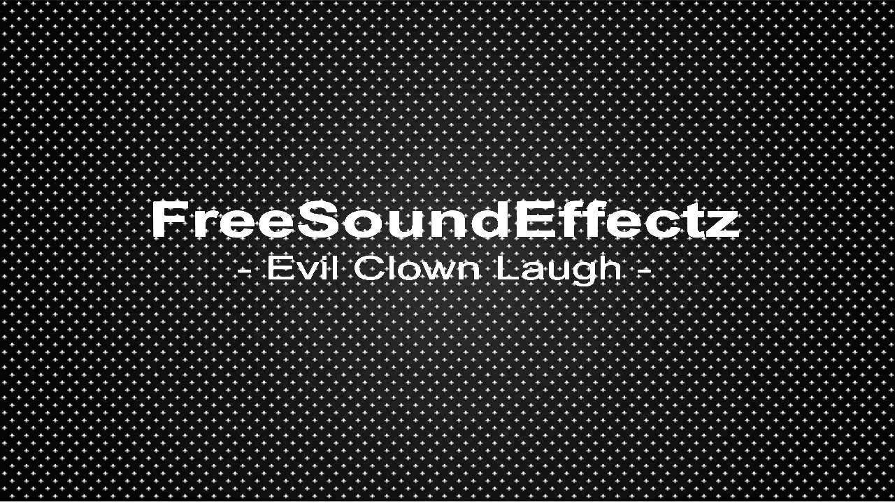 Funny Clown Laugh Sound Effect