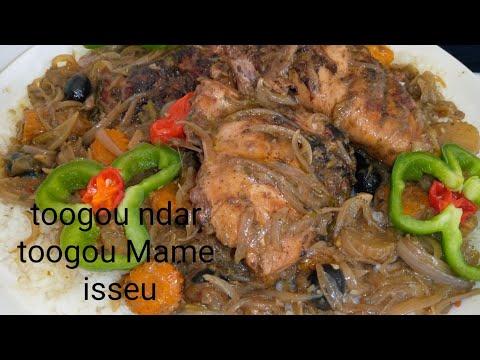 yassa-poulet-grillé-sauce-oignons