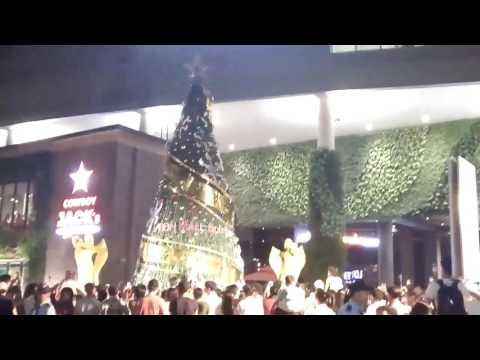 Thắp sáng cây thông Noel 2016 tại Siêu thị Nhật - Sài Gòn