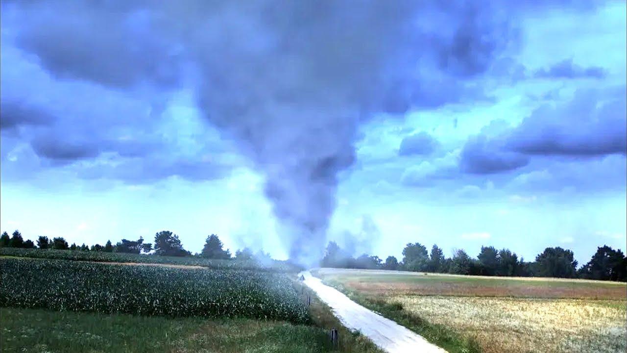 Сильнейший ураган в Тверской области