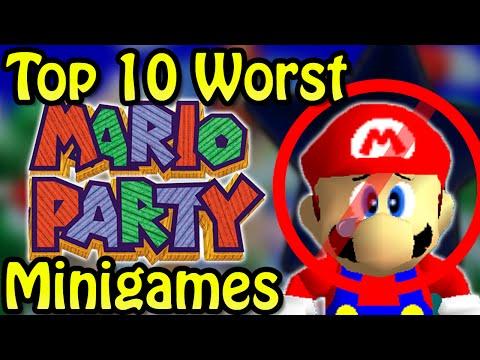 Top 10 Worst Mario Party Minigames