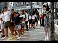 Japan's 'living doll' mesmerizes fans