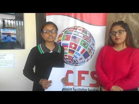 HCFS Chandigarh | Robinjeet Kaur | Dubai Student Visa Testimonial | Best immigration Consultant