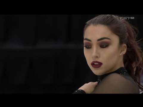 Gabrielle DALEMAN Short Program 2019 Canadian National Championships