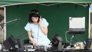 海の楽園 PEACE前で行われた、DJ.Meguダイジェスト版です。