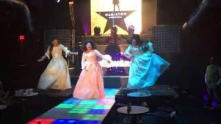 Drag Queens perform HAMILTON The Schuyler Sisters