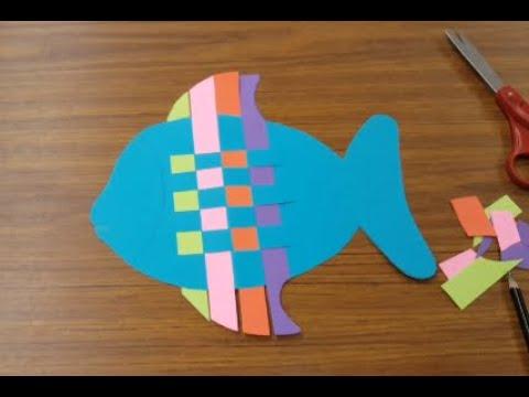 Fish Paper Weaving, Part 1