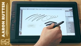 cintiq Companion 2 Review - Express Keys & Software Demo