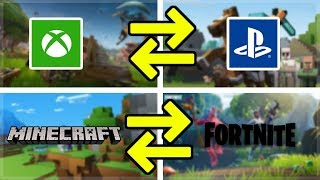 SONY PS4 CROSSPLAY FOR MINECRAFT & FORTNITE IS COMING SOON!