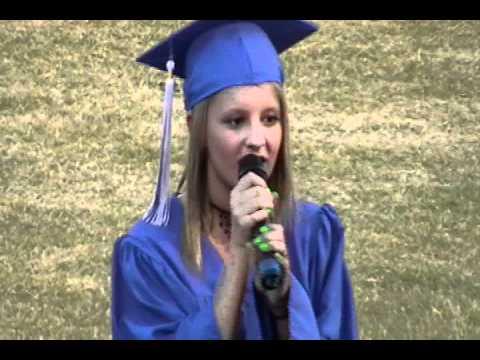 Taylor Bound Singing My Wish At Graduation