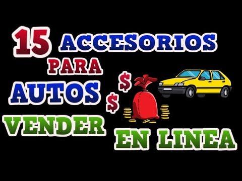 15 ACCESORIOS PARA AUTO QUE PUEDES VENDER EN LINEA