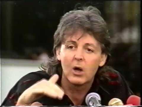 Paul McCartney  New Zealand 1993