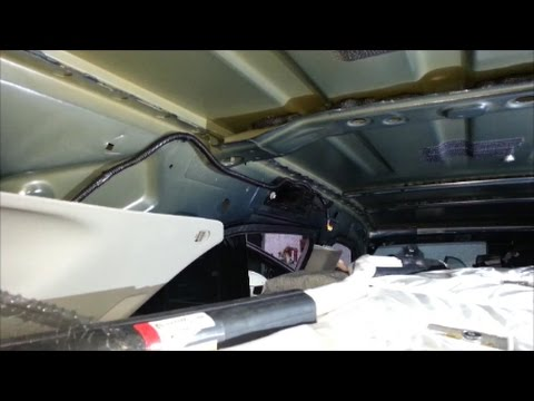 How To Remove And Reinstall Side Curtain Impact SRS Airbags And This May Reset Light