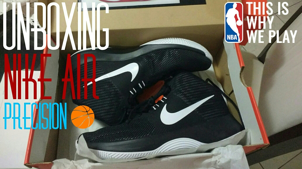 2ad50deed796a Unboxing | Nike Air Precision Basquete - YouTube