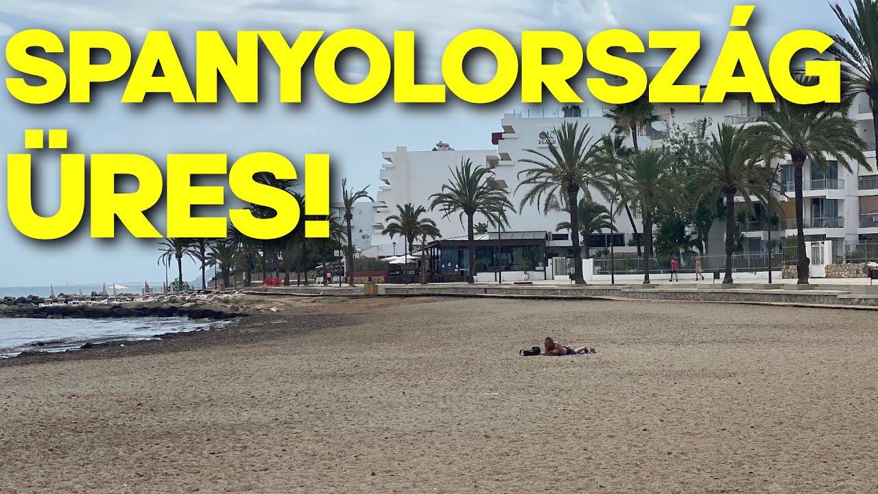 Spanyolország üres! -VLOG e02