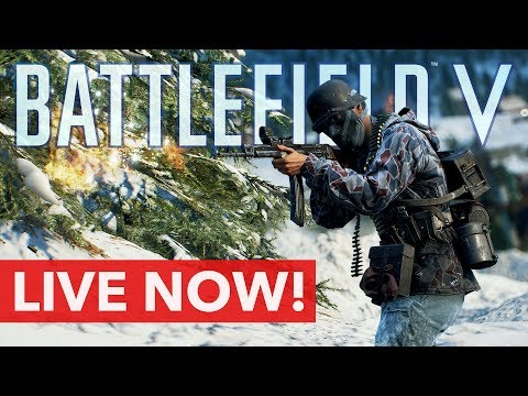 Battlefield V First Stream in 2019 - Happy New Year Everyone