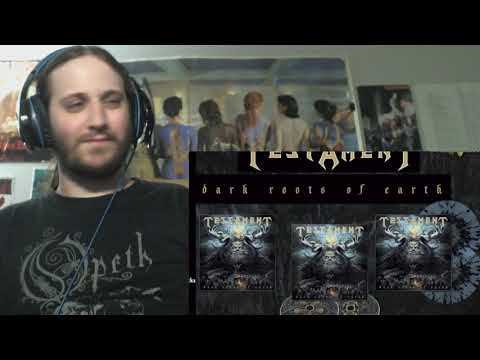 Testament - True American Hate (Reaction)