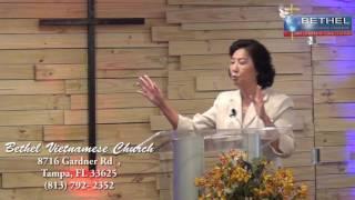 Chúa Giê xu chiến thắng vinh quang trên cây thập tự - Mục sư Esther Trương