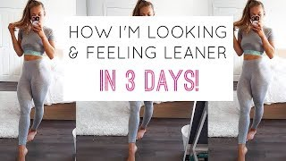 FULL DAY OF EATING + INTENSE LEG & BOOTY WORKOUT