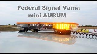 prezenacja Federal Signal Vama AURUM -eLightbars.pl [FULL HD]
