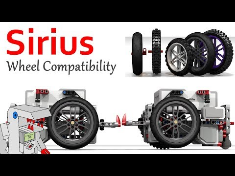 FLL Robot Wheels - Evaluating the Compatibility of New Wheels with Sirius
