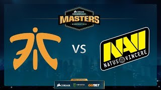 Navi vs Fnatic - Overpass - Group Stage - Dreamhack Marseille 2018