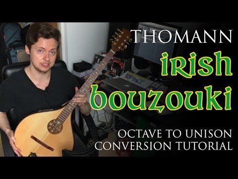 Thomann (Hora) Irish Concert Bouzouki - Octave to Unison Conversion