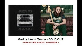 Geddy Lee - Book Signing at Changing Hands - Tempe Arizona