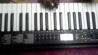 Janatha Garage Theme Song Keyboard Cover