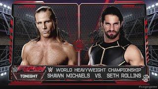 Video WWE 2K16 - Shawn Michaels vs Seth Rollins - WWE Championship Gameplay [ 60fps 1080p ] download MP3, 3GP, MP4, WEBM, AVI, FLV Juni 2017