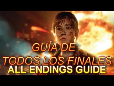 Beyond: Dos Almas Trofeo Todos los Finales... // Beyond: Two Souls All Endings... Trophy