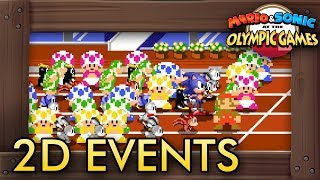 Mario & Sonic at the Olympic Games Tokyo 2020 -  All Classic 2D Events