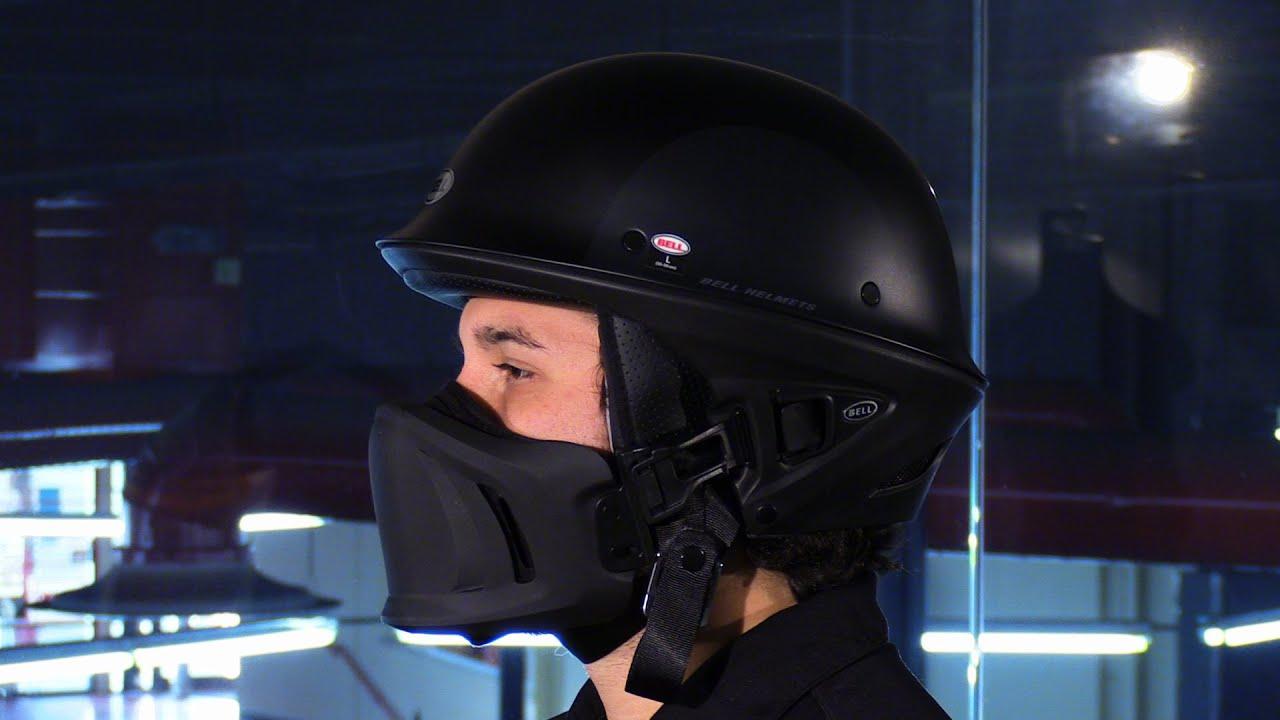 Bell Racing Helmets >> Bell Helmets Rogue Arc Motorcycle Half Helmet Review - YouTube
