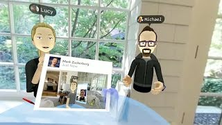 Your Oculus avatar can pull a sword out of thin air and take a VR selfie (CNET News)