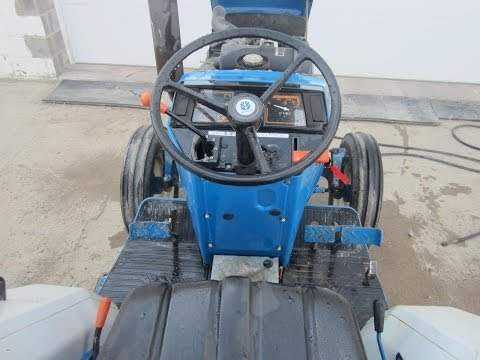 NEW HOLLAND 1720 3 CYL DIESEL TRACTOR 2WD SOLD.