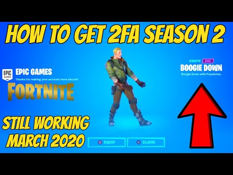 How To Get Boogie Down Emote Season 2 (Still Working)