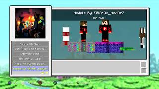 Minecraft PS3 Foxcraft V9.1 Download (custom skins and stuff)