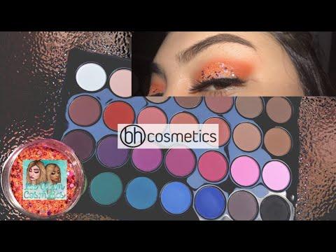 EASY Glitter GLAM 🧡| BHcosmetics| desireeyvette