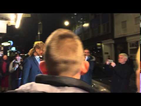 Nicole Kidman & Keith Urban leaves Noel Coward Theatre , London16.10.2015