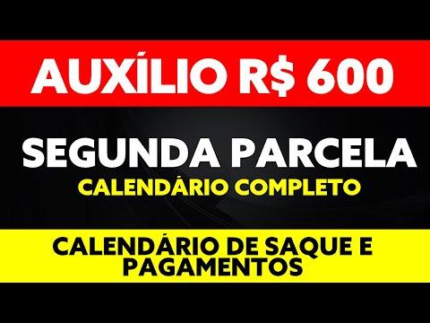 AGORA! 600 AUXÍLIO EMERGENCIAL SEGUNDA PARCELA CALENDÁRIO DE PAGAMENTOS E SAQUES