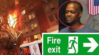 Bombero novato en Nueva York le da miedo hacer su trabajo