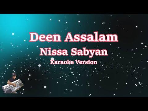 Deen Assalam    Karaoke Tanpa Vocal   Nisa Sabyan