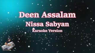 Deen Assalam || Karaoke Tanpa Vocal | Nisa Sabyan