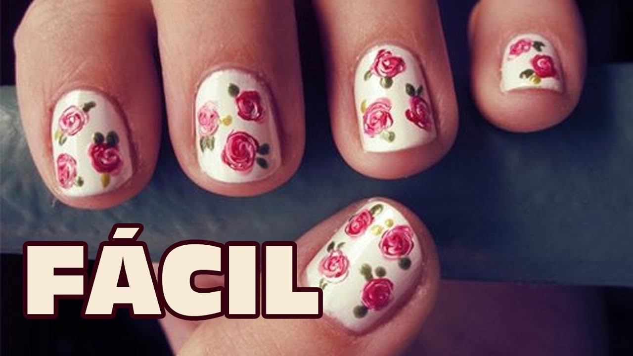 Uñas decoradas muy fácil y perfectas | Nuevas ideas para pintar las ...