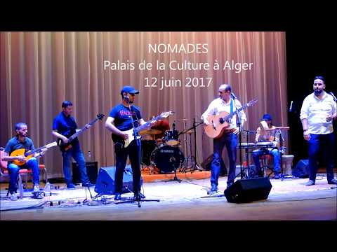 Groupe Nomades au Palais de la Culture à Alger