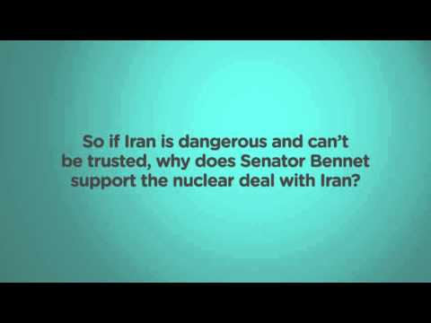 Senator Michael Bennet opposes the Iran Deal he supports