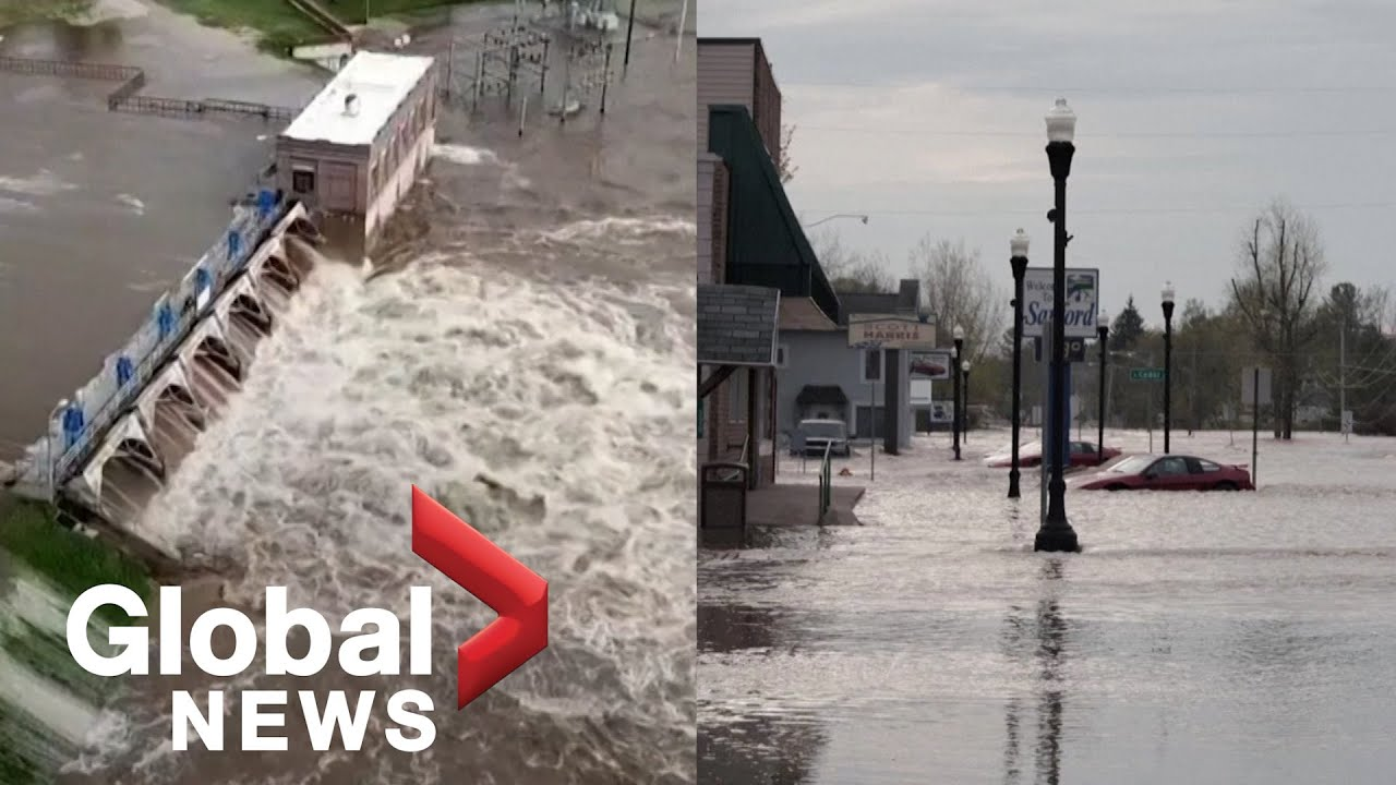 Michigan flooding: Thousands evacuate after 2 dams fail, and city of ...