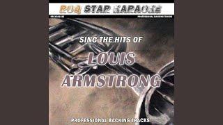 Mame (Originally Performed by Louis Armstrong) (Karaoke Version)